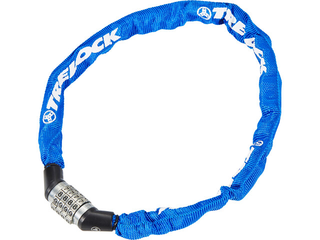 Trelock BC 115 Code Chain Lock blue